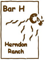 Exotic Trophy Sheep - Bar H Herndon Ranch Logo